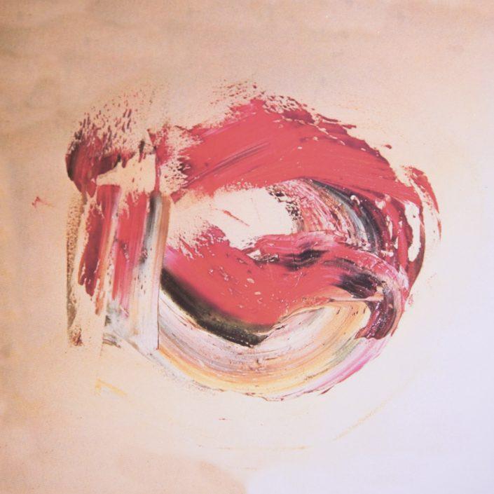 """""""Senza titolo""""- 1970, olio su tela, 50x60."""