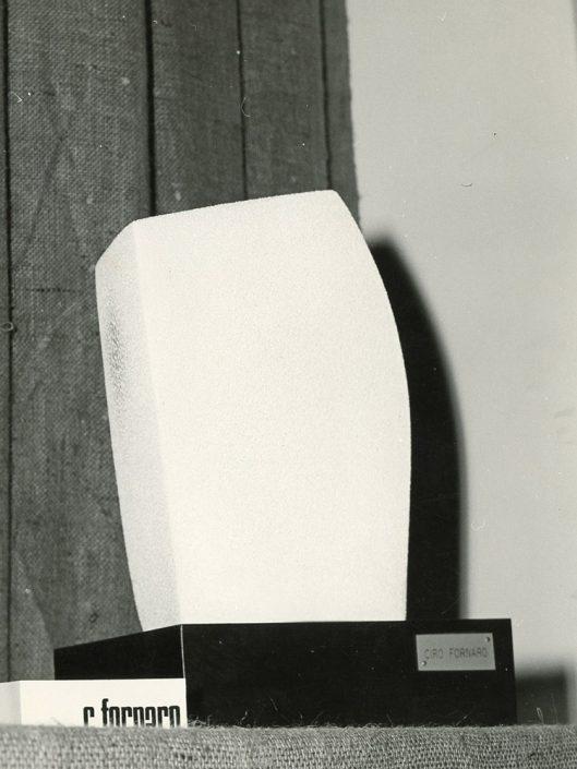 Scultura ceramica sabbiata (piccola) anni 80